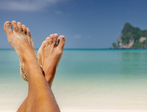 Balance foot perfectly – find 'The Sweet Spot'
